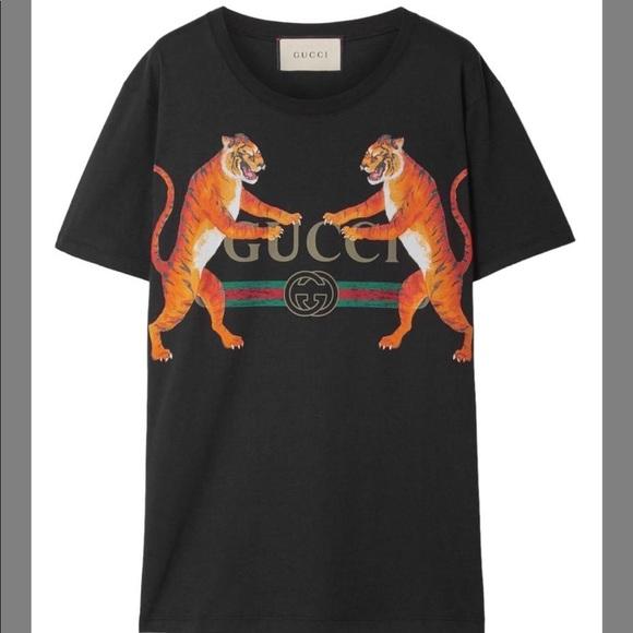 9ec1d5398244 Gucci Tops | Tiger T Shirt | Poshmark